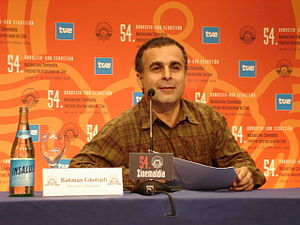 Bahman Ghobadi - Bahman Ghobadi at a press conference at the San Sebastián Film Festival 2006