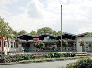 Hamm–Warburg railway - Lippstadt station