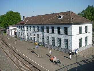 Vienenburg station - Entrance building