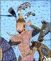 Bahram Chubina (The Shahnama of Shah Tahmasp).png