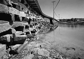 Bailey Island Bridge - Image: Baileyib 1