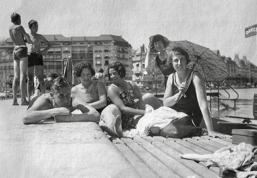 Bains Paquis Genf 1930