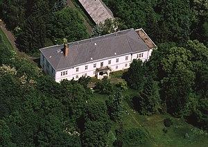 Baktalórántháza - Aerial photograph: Baktalórántháza Palace