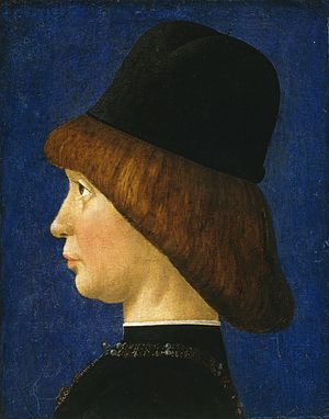Baldassare Estense - Francesco II Gonzaga, Marquess of Mantua, ca. 1474-1480, now in the National Gallery of Art