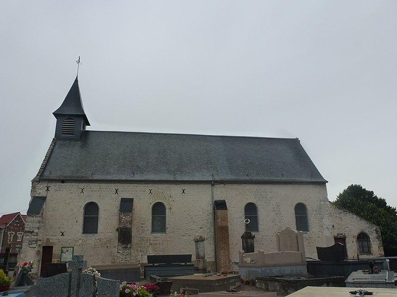 Balinghem (Pas-de-Calais) église Notre-Dame de la Nativité