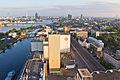 Ballonfahrt über Köln - Severinsbrücke, Deutzer Hafen, Ellmühle Köln, Siegburger Straße-RS-4078.jpg