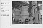 Balloons - Helium Plants - Development of helium work under the direction of the Bureau of Mines. Forecooler, counter current coils & auxilliary kettle. Fort Worth, Texas - NARA - 20807966.jpg