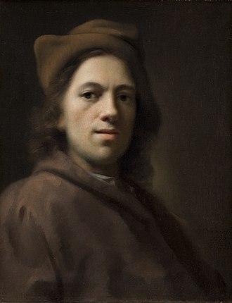 Balthasar Denner - Balthasar Denner self-portrait, 1719