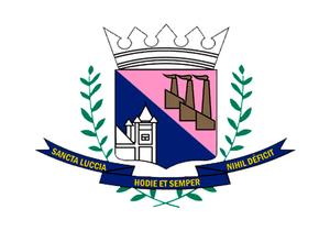Santa Luzia, Minas Gerais - Image: Bandeirasantaluzia