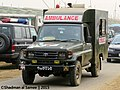 Bangladesh Army Toyota LC70 Ambulance (23774036365).jpg