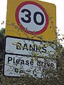 Banks, Lancashire road sign 2.JPG