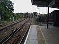 Barnes Bridge stn look west to bridge2.JPG