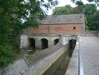 Helpe Majeure - The Weir in Avesnes-sur-Helpe