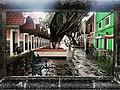 Barrio del Artista en lluvia.jpg