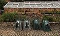 Barrows outside the melon & cucumber glass house (aw13 8 16) (32108377703).jpg