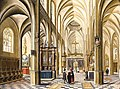 Bartholomeus van Bassen Interior of a Gothic Cathedral.jpg