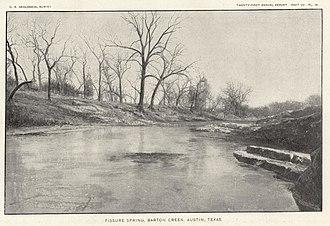 Barton Creek - Barton Creek in 1900