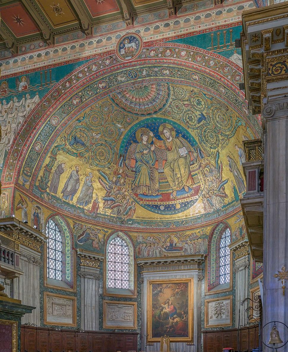 Basilica di Santa Maria Maggiore abside a Roma