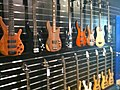 Bass guitars 2, guitar shop in Doublin.jpg