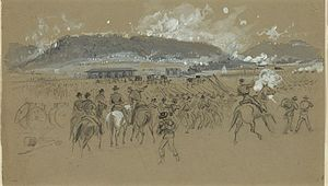 Battle of Ringgold Gap - Sketch of the Battle of Ringgold Gap