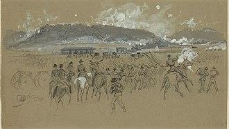 Battle of Ringgold Gap - Sketch of the Battle of Ringgold Gap