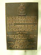 Batu Lintang memorial plaque