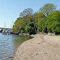 Beach by the Penryn River (5696643397).jpg
