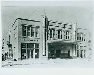 Beacham Theatre - The Beacham Theatre shortly after construction in 1921