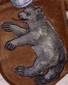Bear art in 1520, from- Coat of arms of owner? (NYPL b12455533-426254) (cropped) (cropped).tif