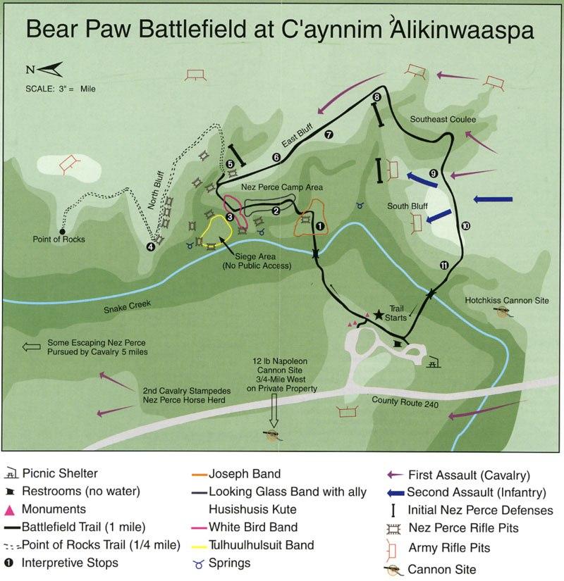 Bear paw battlefield1-NPS map