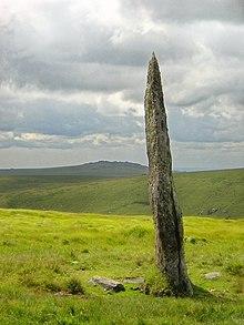 Paesaggio del Dartmoor