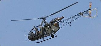 Aérospatiale Alouette II - A Belgian Army Alouette II, 2005