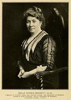 Belle Harris Bennett 1852-1922 , church and ecumenical leader