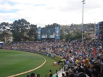 Bellerive Oval - Hill, Australia v South Africa, 2009