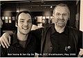 Ben Heine with Jan Op De Beeck 2008.jpg