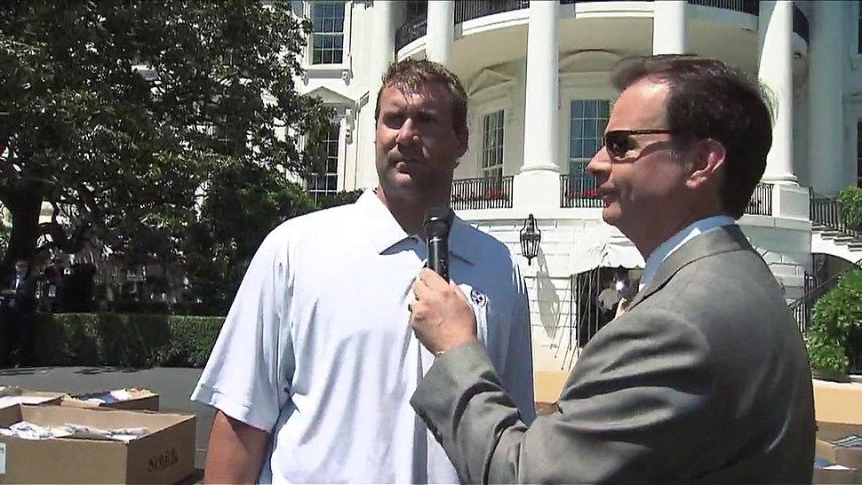 Ben Roethlisberger at the White House 2009-05-21