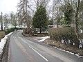Bend in road east of Rhydycroesau - geograph.org.uk - 1722649.jpg