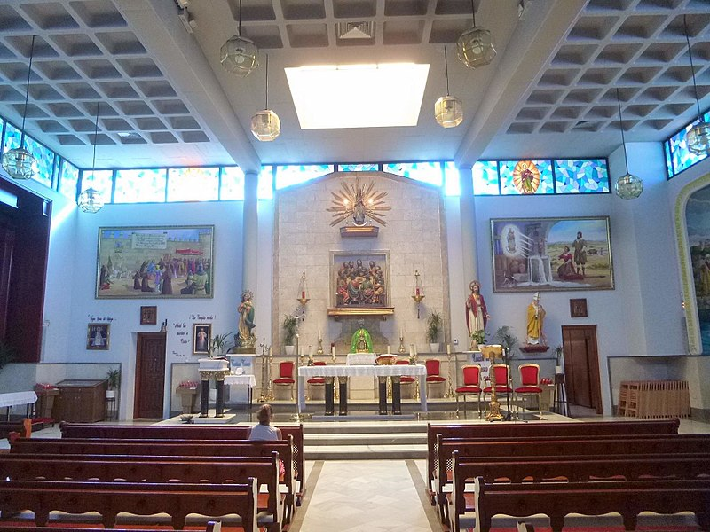 File Benidorm Parroquia De Nuestra Señora De La Almudena 6 Jpg Wikimedia Commons