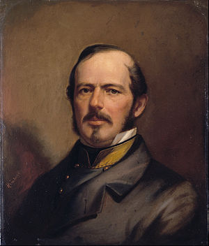Joseph E. Johnston - Portrait by Benjamin Franklin Reinhart (c. 1860)