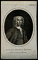 Benjamin Martin. Line engraving, 1785. Wellcome V0003873.jpg