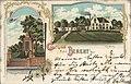 Berent, Westpreußen - Kreishaus; Kriegerdenkmal (Zeno Ansichtskarten).jpg