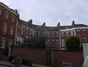 Berkeley Crescent, Bristol - Image: Berkleycrescent