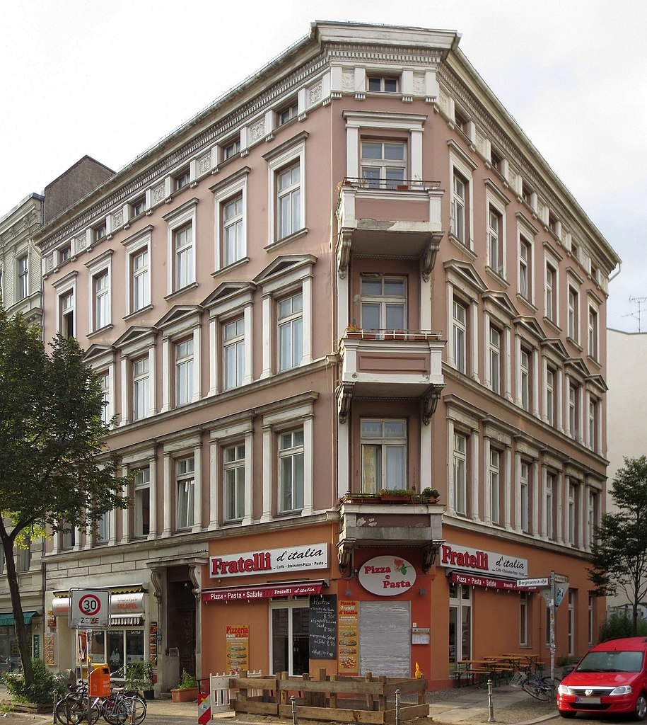 Datei Berlin Kreuzberg Am Tempelhofer Berg 1 Mietshaus