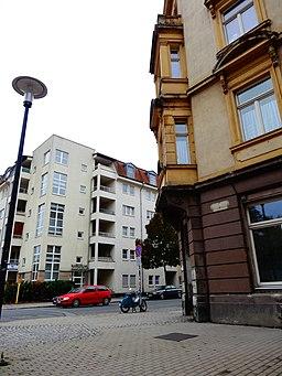 Berliner Straße in Dresden