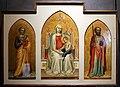 Bernardo daddi, madonna con bambino leggente e i santi pietro e paolo, 1320-30 ca. 01.jpg