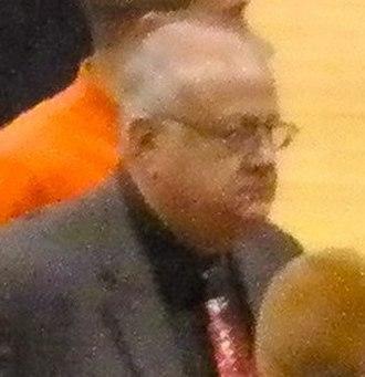Bernie Fine - Fine in 2010.