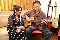 Bhupinder & Mitali Singh rehearses for their upcoming music album Aksar (2).jpg