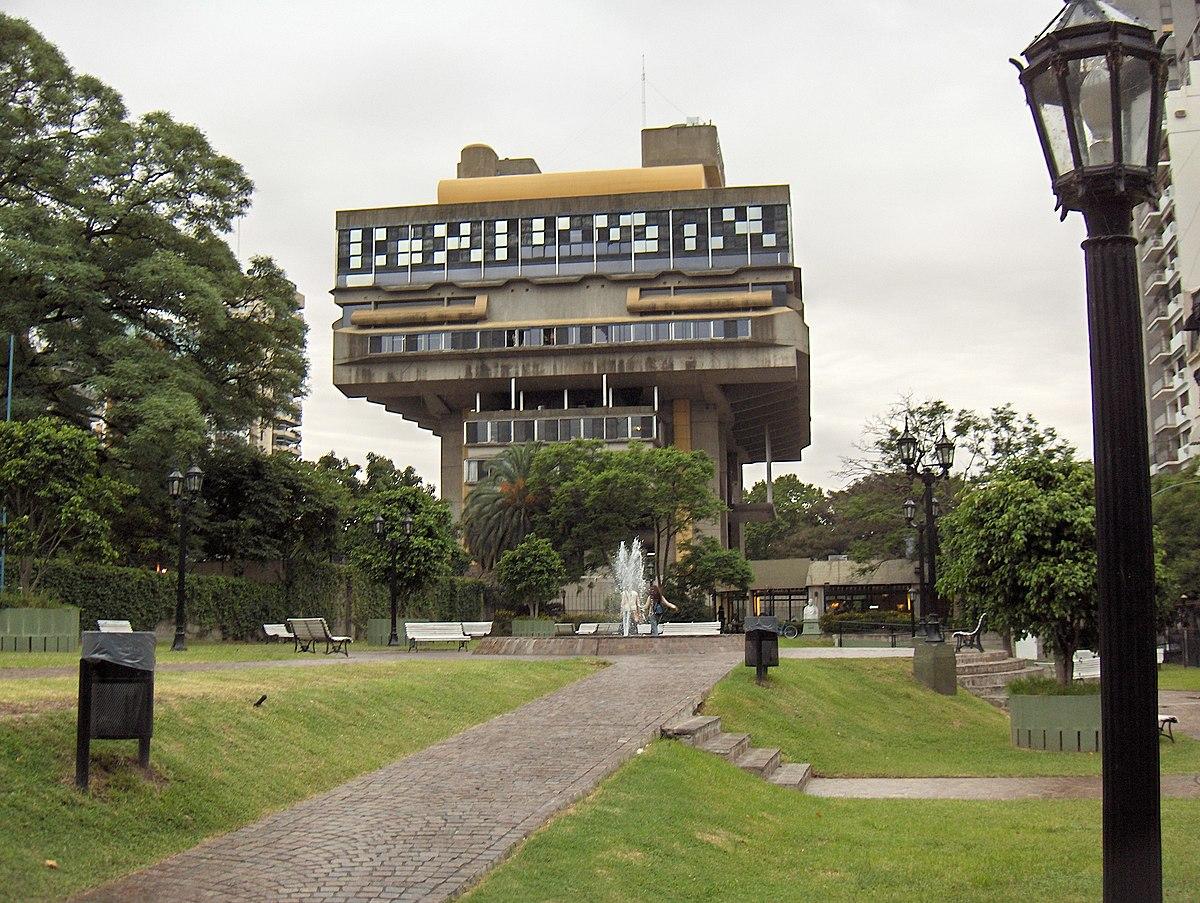 Biblioteca nacional da argentina wikip dia a for Espectaculo para ninos buenos aires