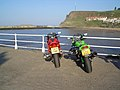 Bikes at Whitby Harbour - geograph.org.uk - 43938.jpg