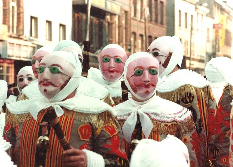 班什狂歡節 Carnival of Binche